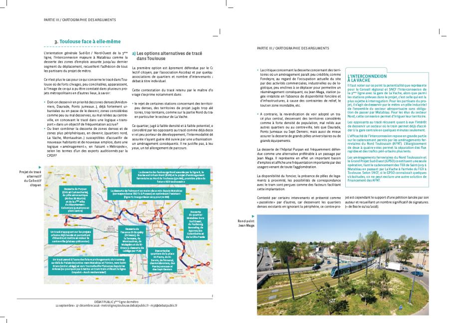 Deux pages sont consacrées aux propositions et analyses du collectif citoyen dans le rapport de la CNDP de février 2017.