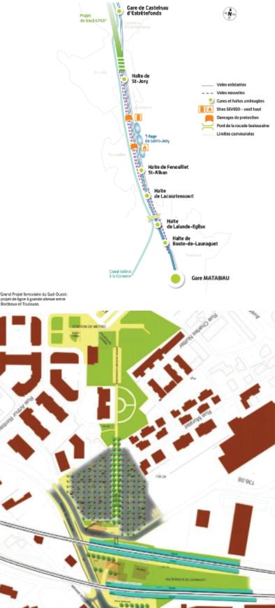 Projet La Vache Route de Launaguet AFNT Ligne B