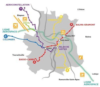 Proposition 3e ligne métro Jean-Luc Moudenc municipales 2014