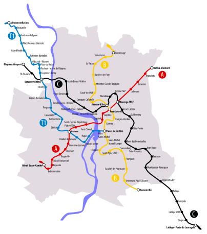 Proposition 3e ligne métro Maxime Lafage 2010