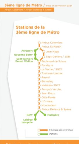 Stations TAE 3e ligne métro Moudenc 2015