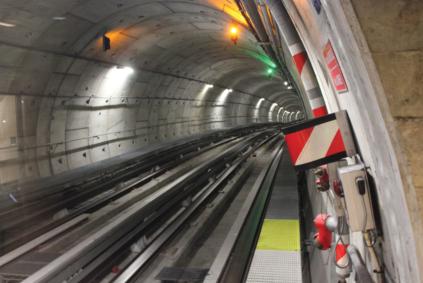 Tunnel Métro Ligne B Toulouse VAL